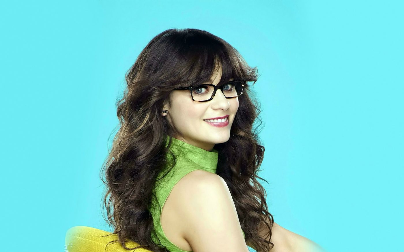 To acquire Deschanel Zooey glasses picture trends